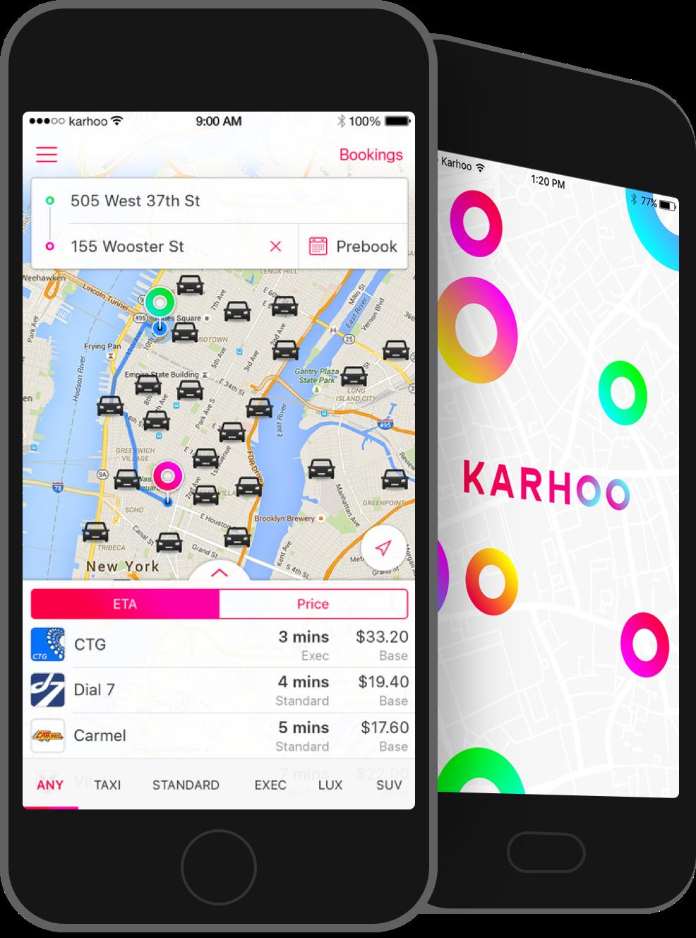 Karhoo app