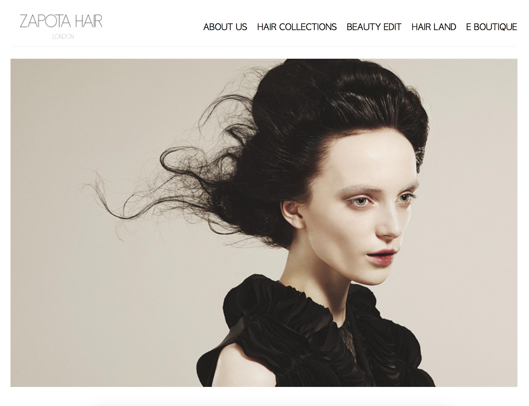 Zapota Hair home page
